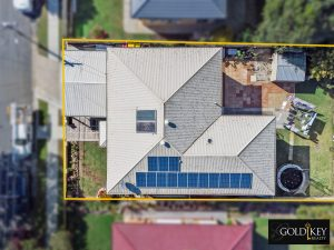 Drone view of home for sale Mansfield Brisbane
